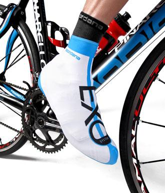 Giordana EXO Shoe Cover - White - Classic Cycling