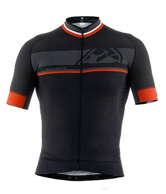 Giordana FR-C 'Bands' Short Sleeve Jersey Black - Classic Cycling