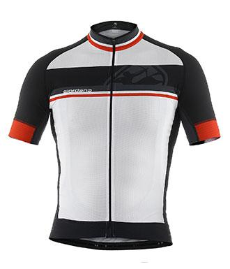 Giordana FR-C 'Bands' Short Sleeve Jersey White - Classic Cycling