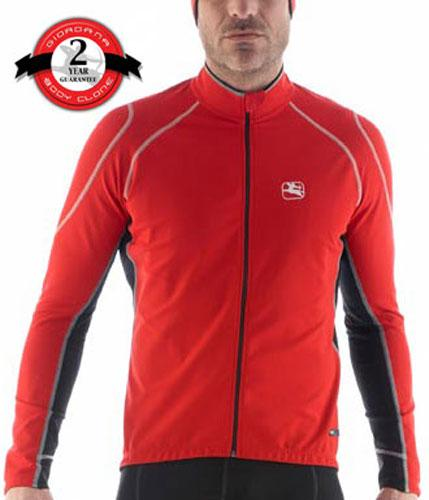 Giordana FR-C Lightweight Cycling Jacket Red - Classic Cycling