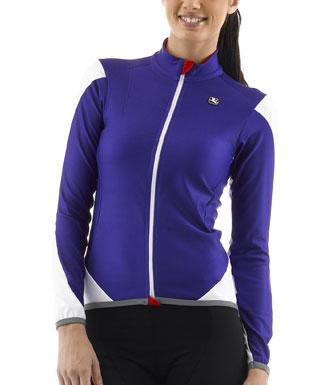 Giordana FR-C Long Sleeve Womens Cycling Jersey - Purple - Classic Cycling