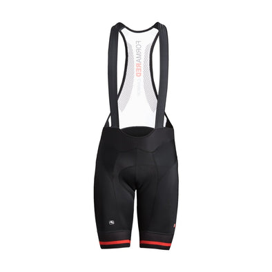 Giordana FR-C Pro Bib Short - Black-Red - Classic Cycling