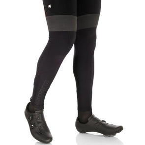 Reflective logos Fleece lined Vanelli Cycling Leg Warmers Made in Europe