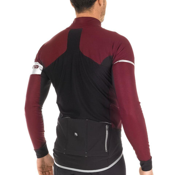 Giordana FR-C PRO LYTE Winter Jacket - Burgundy-Black - Classic Cycling