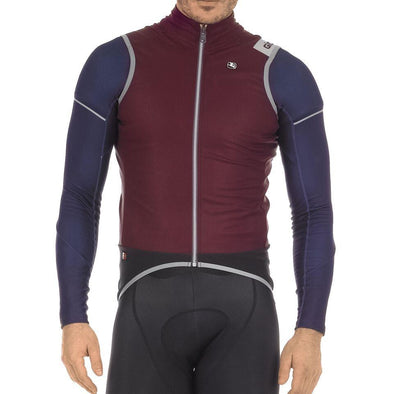 Giordana  FR-C PRO LYTE Winter Vest - Burgundy-Black - Classic Cycling