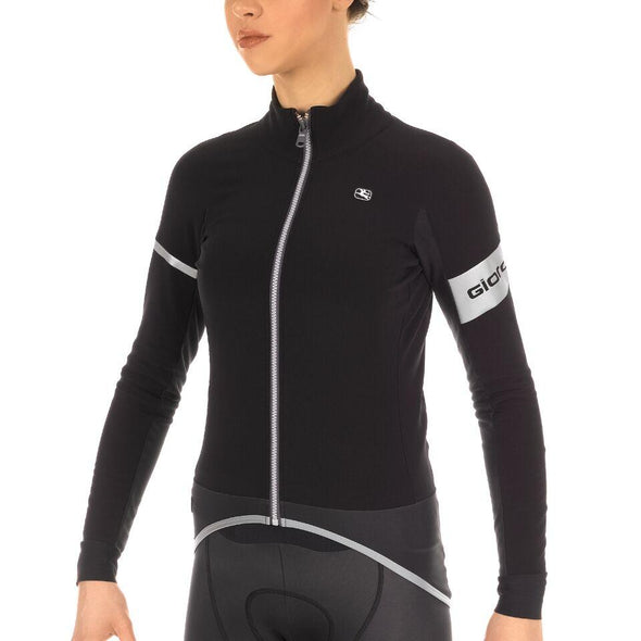 Giordana FR-C PRO LYTE Women's Winter Jacket - Black - Classic Cycling