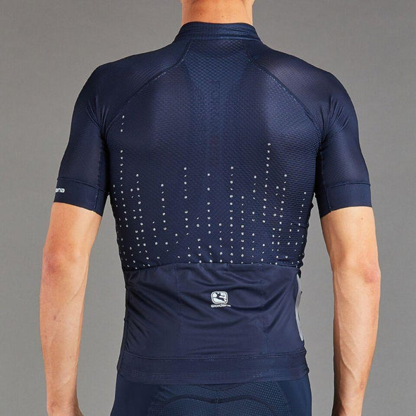Giordana FR-C Pro Moda A to G Cycling Jersey - Navy Blue - Classic Cycling