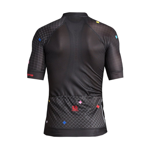 Giordana FR-C Pro Moda Short Sleeve Jersey - Diamante - Black - Classic Cycling