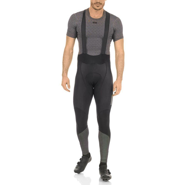 Giordana FR-C PRO REFLECTIVE Thermal Bib Tights - Black-Fluo - Classic Cycling