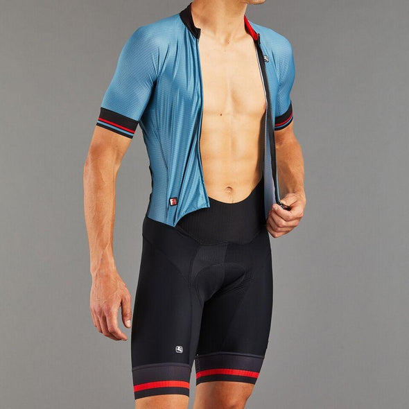 Giordana FR-C Pro S-S Doppio Suit - Aqua Top-Black Bottom - Classic Cycling