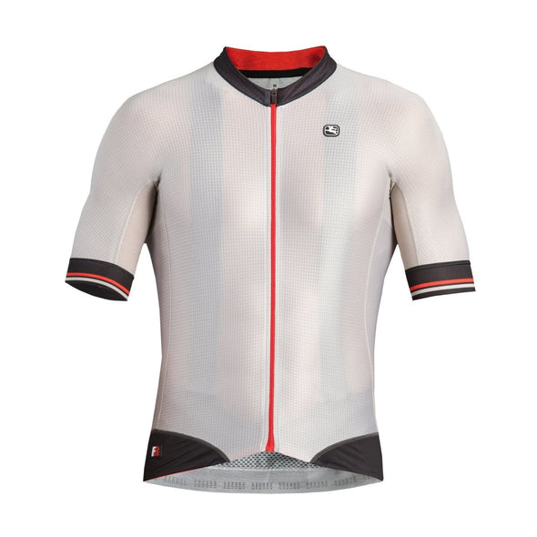 Giordana FR-C PRO Short Sleeve Jersey - Beige-Black - Classic Cycling