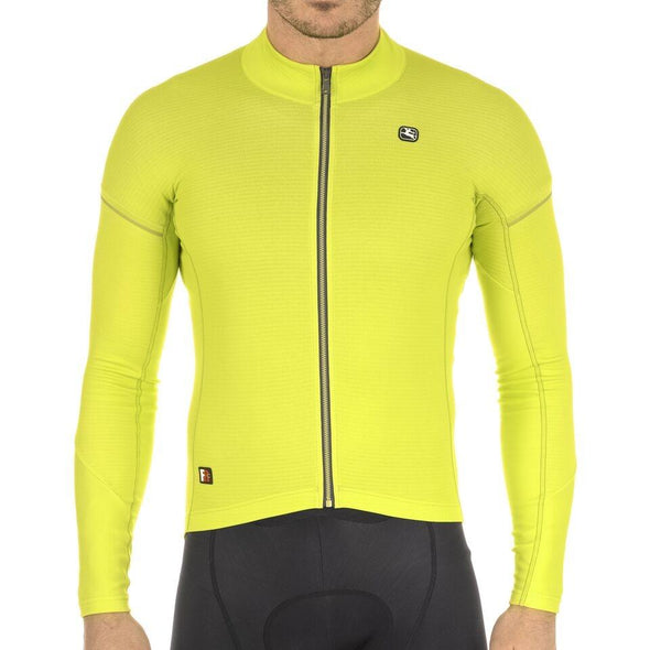 Giordana FR-C PRO Thermal Long Sleeve - Acid Green - Classic Cycling