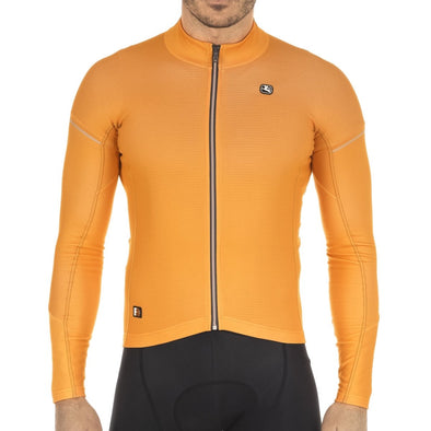 Giordana FR-C PRO Thermal Long Sleeve - Orange - Classic Cycling