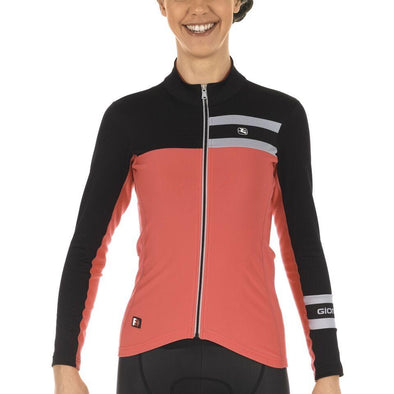 Giordana FR-C PRO Women's Thermal Long Sleeve - Pink-Black - Classic Cycling