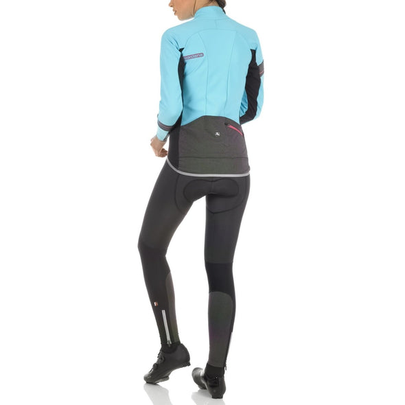 Giordana FR-C PRO Women's Winter Jacket - Light Blue-Black - Classic Cycling