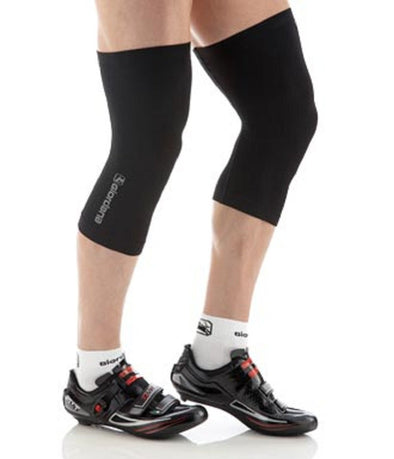 Giordana FR-C Seamless Knee Warmers Black - Classic Cycling