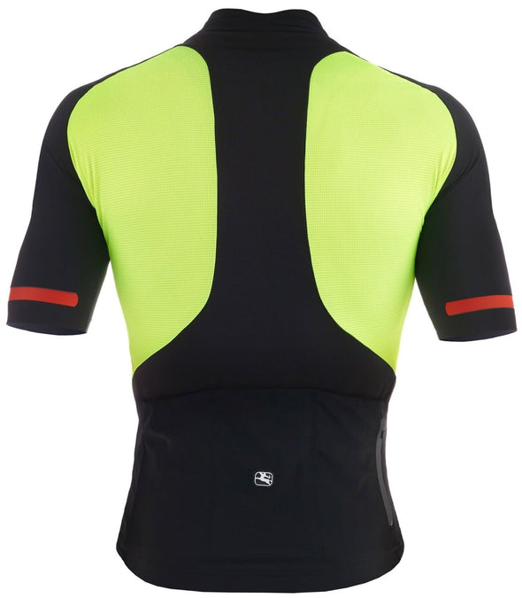 Giordana FR-C Short Sleeve Jersey Fluo Yellow - Classic Cycling