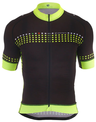 "Giordana FR-C Short Sleeve Jersey ""Forte"" Fluorescent - Classic Cycling"
