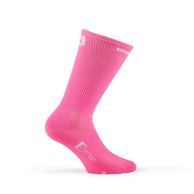 "Giordana FR-C Sock, Tall Cuff - ""SOLID"" Light Pink - Classic Cycling"