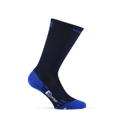 "Giordana FR-C Sock, Tall Cuff - ""SOLID"" Navy - Classic Cycling"