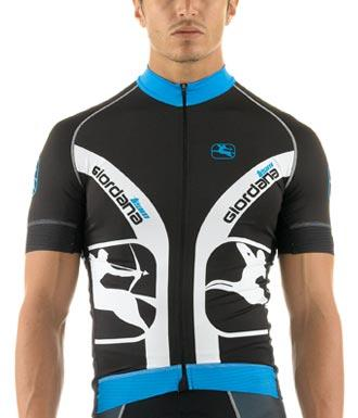 Giordana FR-C Trade Jersey - Blue - Classic Cycling