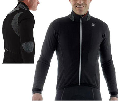 Giordana FRC Thermal Cycling Jacket Black - Classic Cycling