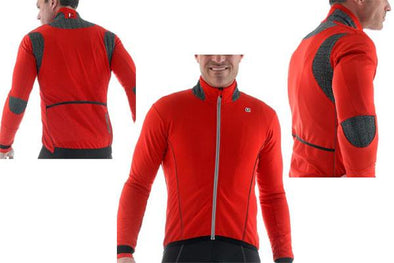Giordana FRC Thermal Cycling Jacket  RED - Classic Cycling