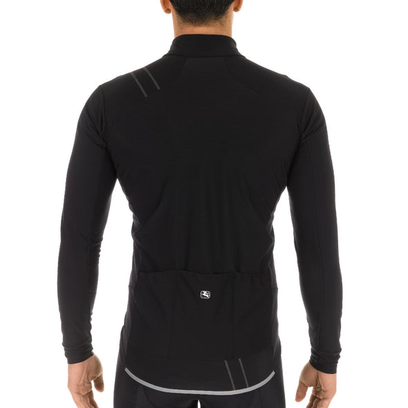 Giordana FUSION Jacket - All Black - Classic Cycling