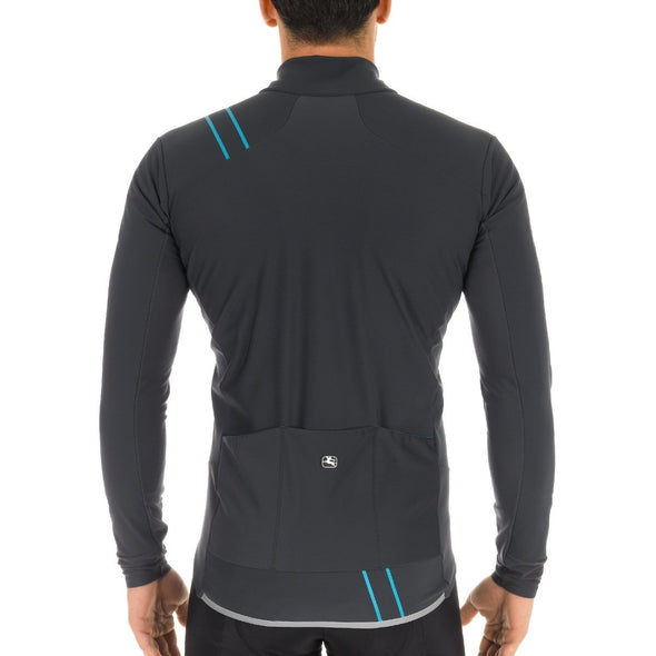 Giordana FUSION Jacket - Charcoal-Blue - Classic Cycling