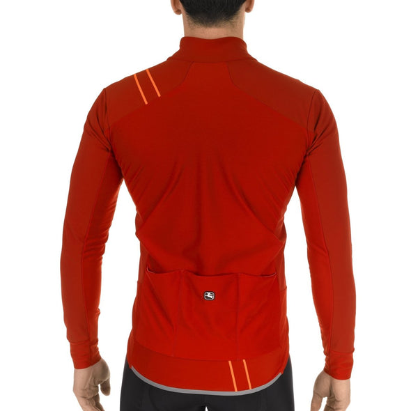 Giordana FUSION Jacket - Red-Grey - Classic Cycling