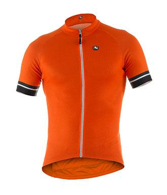 Giordana Fusion Jersey Fluo Orange - Classic Cycling
