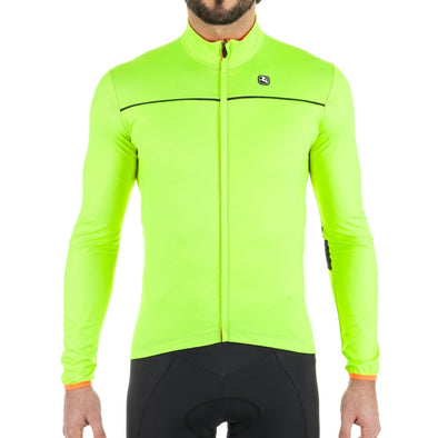 Giordana Fusion Lightweight WindFront Jacket - Fluo Yellow - Classic Cycling