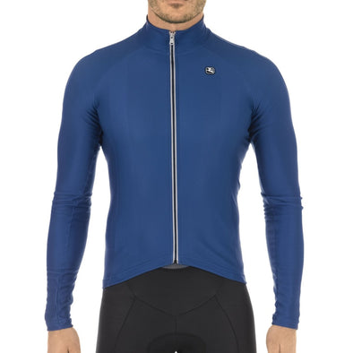 Giordana FUSION Long Sleeve Jersey - Blue - Classic Cycling