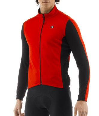 Giordana Fusion Long Sleeve Jersey Red - Classic Cycling