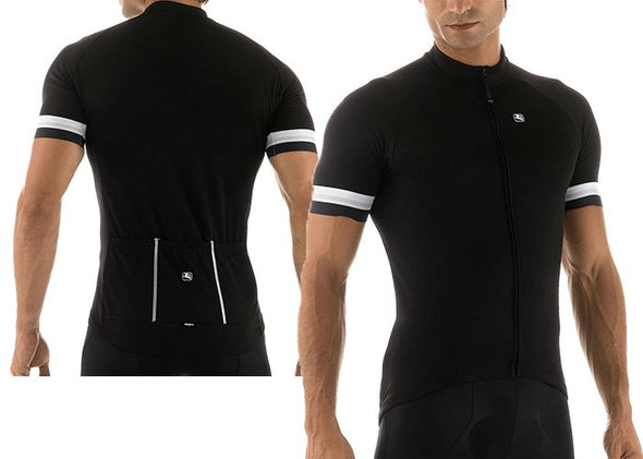 Giordana Fusion Short Sleeve Jersey - Black - Classic Cycling