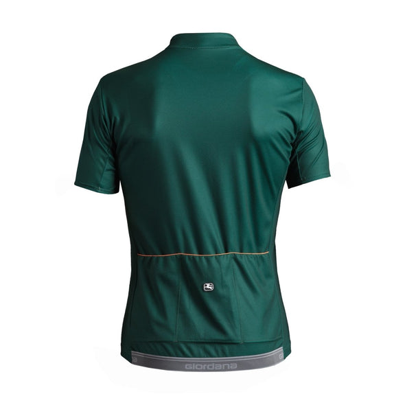 Giordana Fusion  Short Sleeve Jersey - Green - Classic Cycling