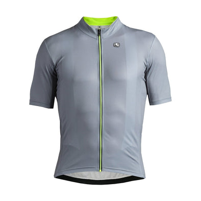 Giordana Fusion  Short Sleeve Jersey - Grey - Classic Cycling