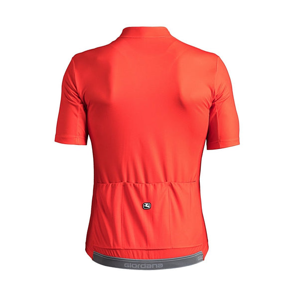 Giordana Fusion  Short Sleeve Jersey - Red - Classic Cycling