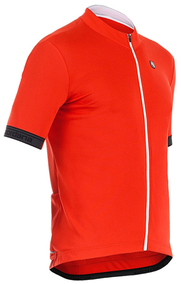Giordana Fusion Short Sleeve Jersey Red - Classic Cycling