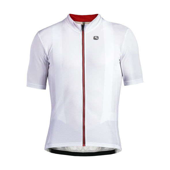 Giordana Fusion  Short Sleeve Jersey - White - Classic Cycling