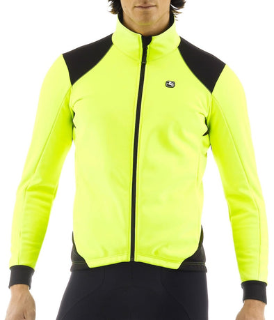 Giordana Fusion Thermal Cycling Jacket Fluorescent - Classic Cycling