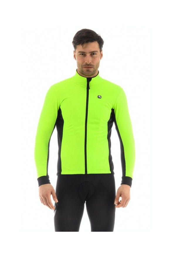 Giordana Fusion Thermal Cycling Jacket Fluorescent Yellow - Classic Cycling