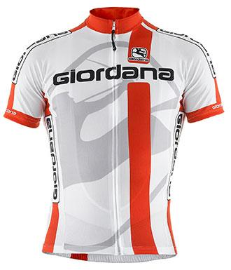 Giordana G-Fit Vero Short Sleeve Jersey Red - Classic Cycling
