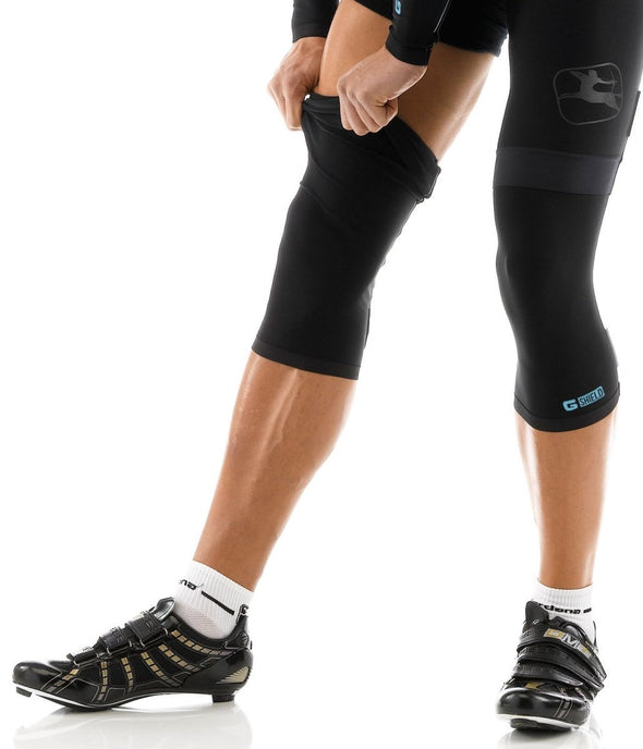 Giordana G Shield Knee Warmers Black - Classic Cycling