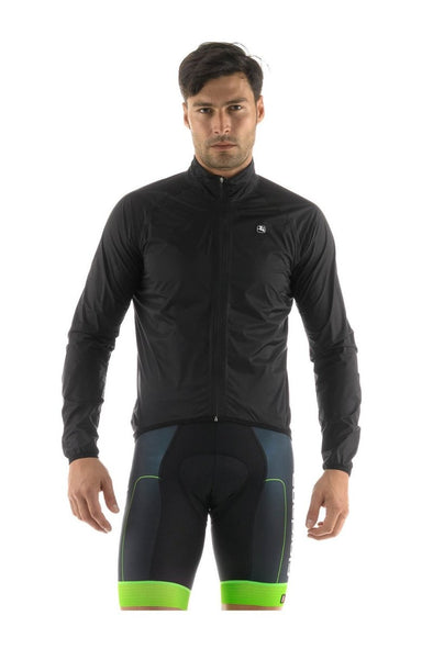 Giordana Hydroshield Rain Jacket Black - Classic Cycling