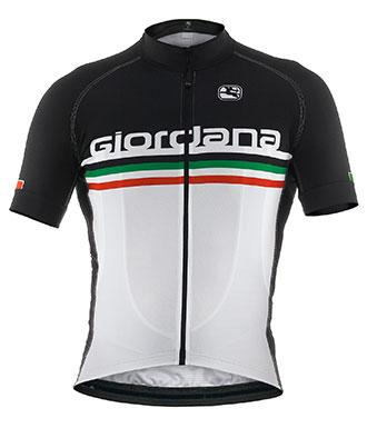 Giordana 'Italia' Scatto Short Sleeve Jersey - Classic Cycling