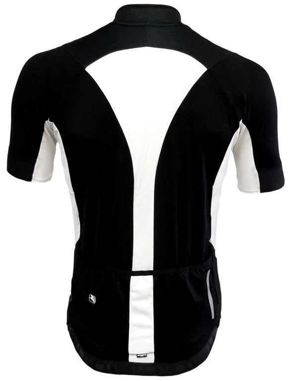 Giordana Laser Short Sleeve Jersey Black - Classic Cycling
