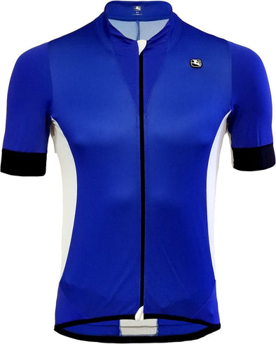 Giordana Laser Short Sleeve Jersey Blue - Classic Cycling