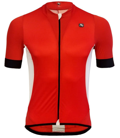Giordana Laser Short Sleeve Jersey Red - Classic Cycling