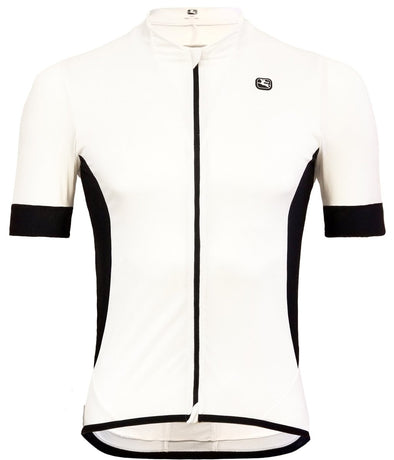 Giordana Laser Short Sleeve Jersey White - Classic Cycling